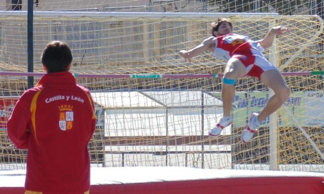 El atleta de 19 años es miembro de la Federación Polideportiva de Discapacitados de Castilla y León.