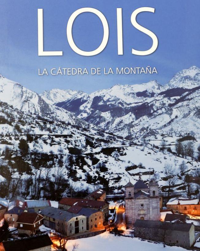 """Portada del libro """"Lois la cátedra de la montaña"""" de la editorial leonesa Rimpego."""
