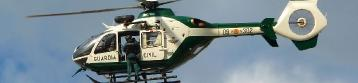 Imagen de un helicóptero del Greim del mismo modelo en el que hoy han fallecido los tres guardias civiles.