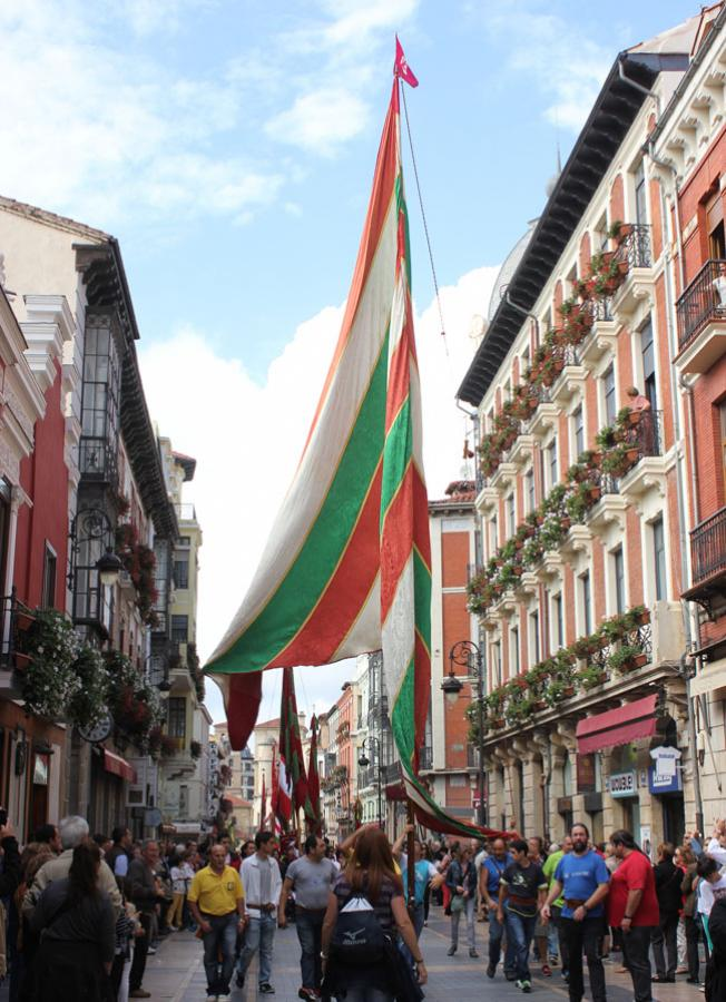 Tradicional desfile de pendones el domingo 28 de octubre.