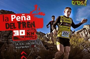 Imagen parcial del cartel promocional del Cross Peña del Tren 2013.